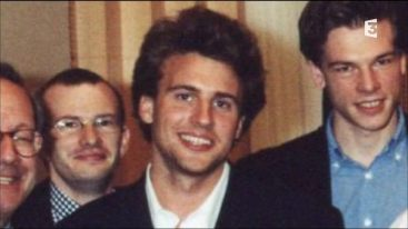 Emmanuel Macron when he was still a student (credits: Fr3)