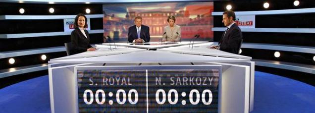 Royal / Sarkozy 2007